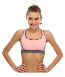 Bahucharaji Creation Pink Cotton Lycra T-Shirt/ Seamless Bra