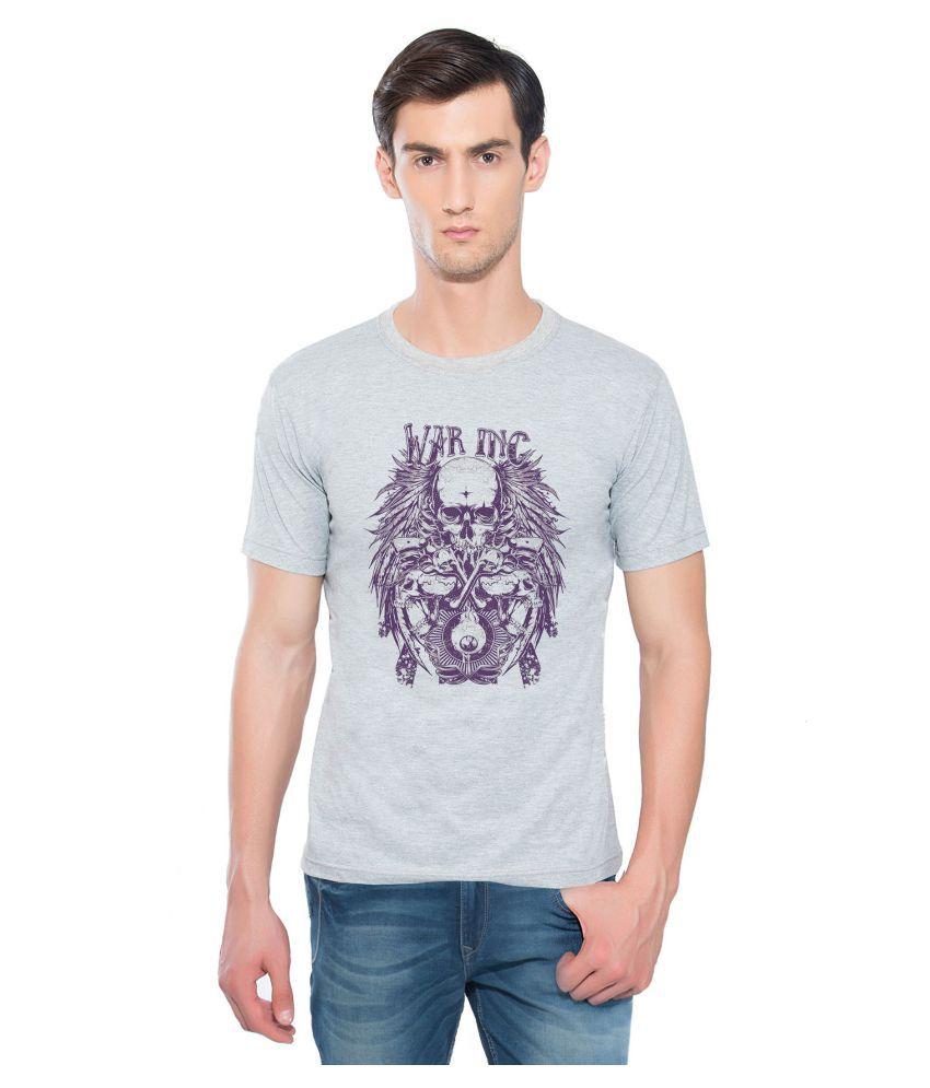 Aghoree Grey Round T-Shirt