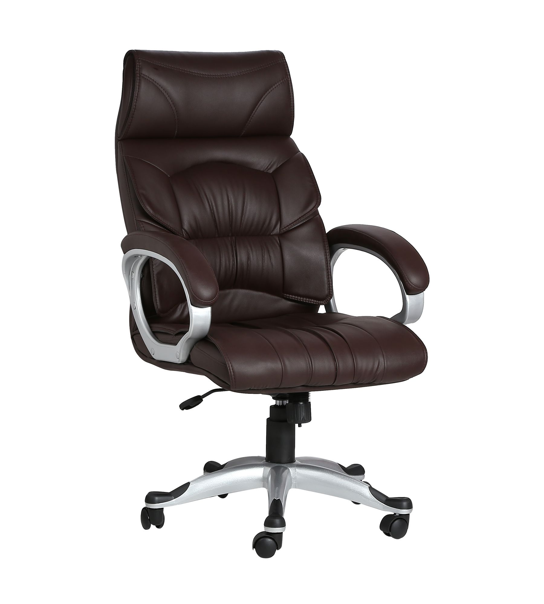 buy best chairs online doblepiel executive high back brown chair buy doblepiel 11803 | Doblepiel Executive High Back Brown SDL824784437 1 a260b