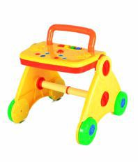 WonderKart Multicolour Plastic Activity Baby Walker