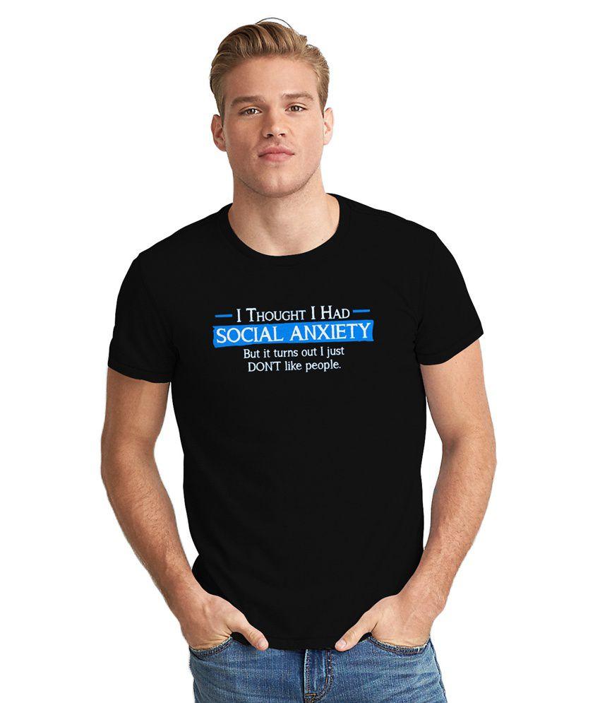 Dreambolic Black Round T-Shirt