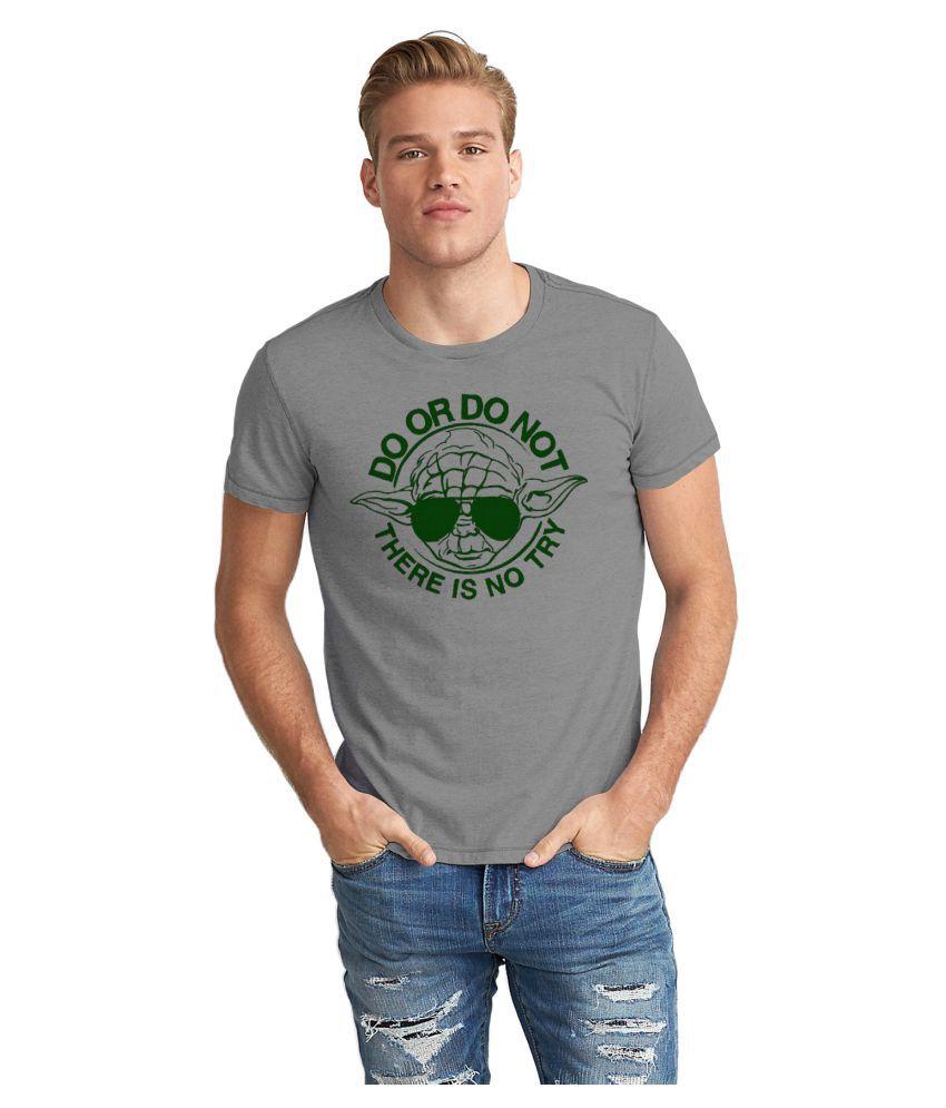 Dreambolic Grey Round T-Shirt