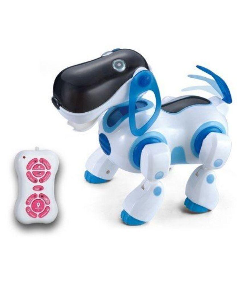 Elektra White Robot Dog Toy Buy Elektra White Robot Dog Toy Online