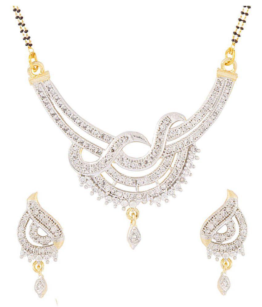 Aditri Golden Mangalsutra Set
