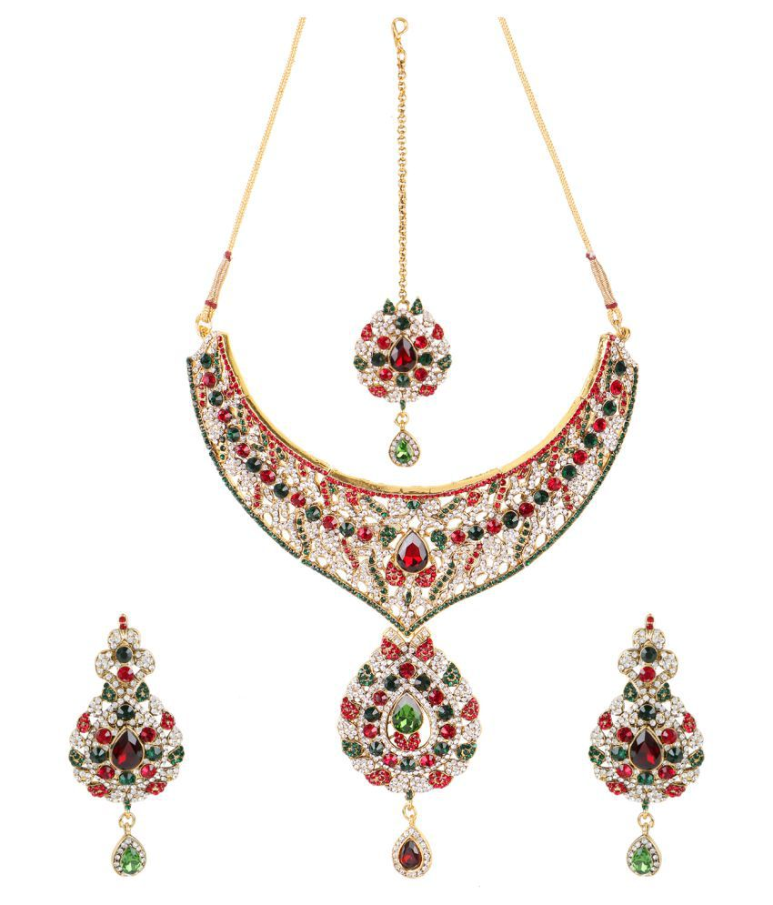 Chhalia Multicolor Necklace Set