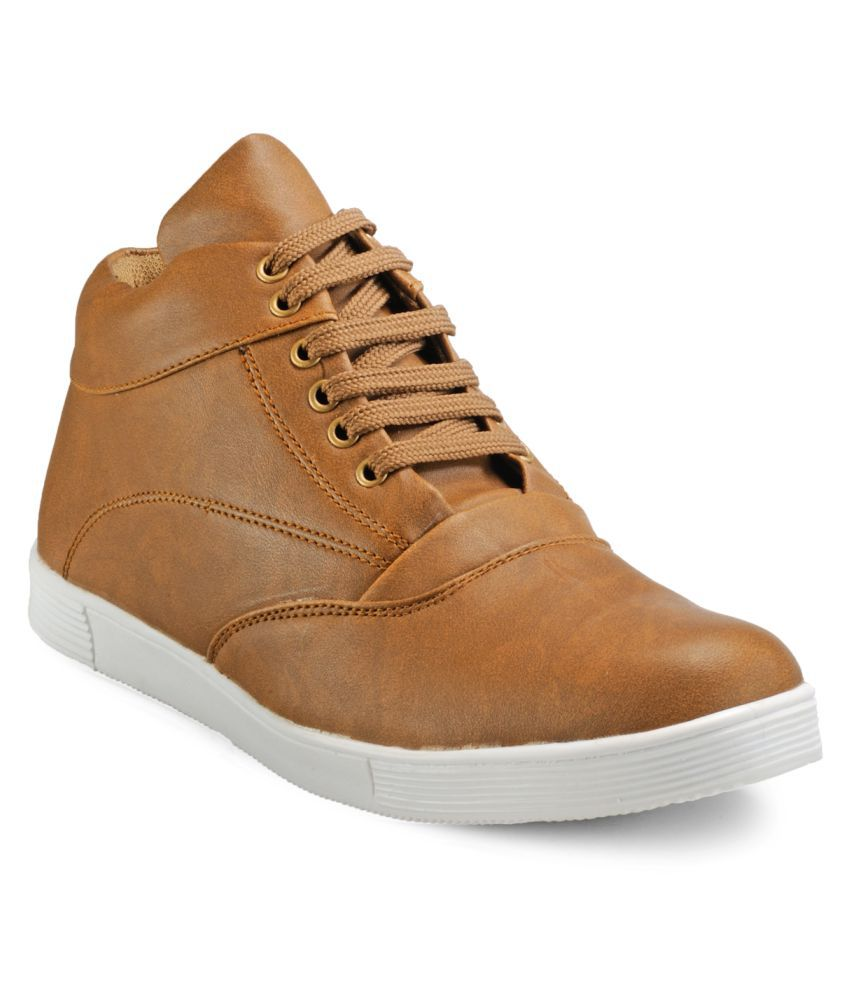 Juan David Sneakers Tan Casual Shoes
