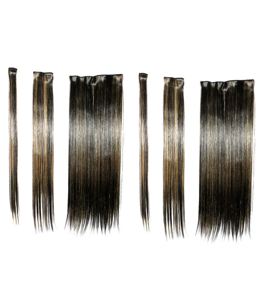 Ritzkart Black Party Hair Extension Hair Accessories Buy Online At
