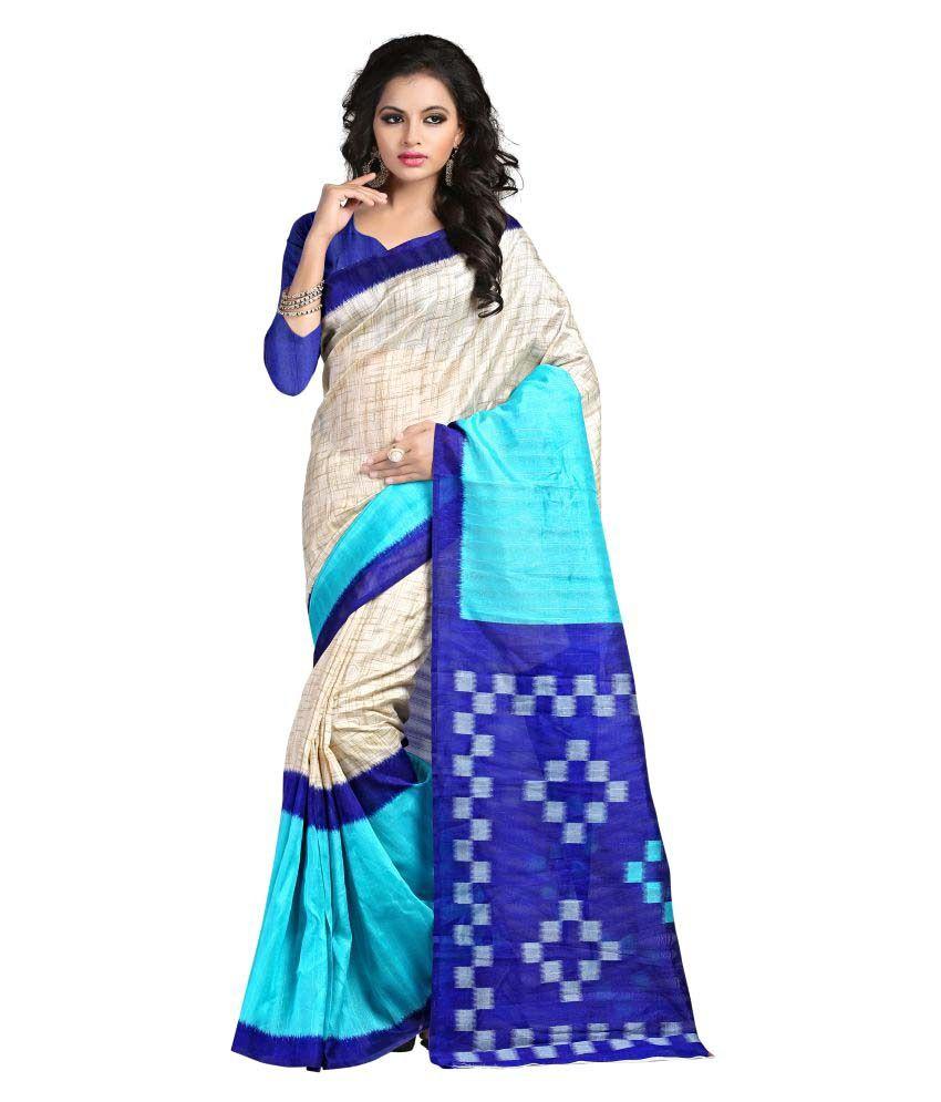 Shree Ambey Designer Sarees Multicoloured Art Silk Saree
