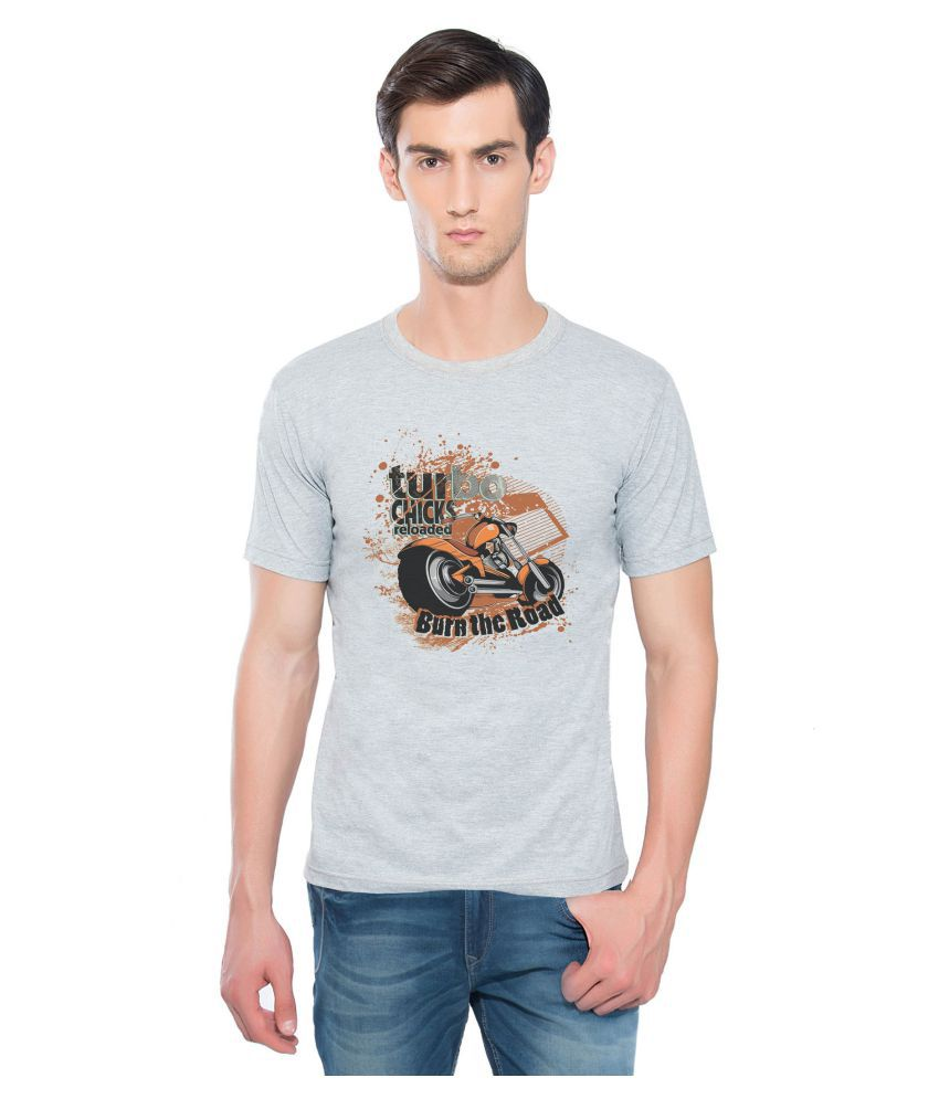 Aghoree Grey Round T-Shirt