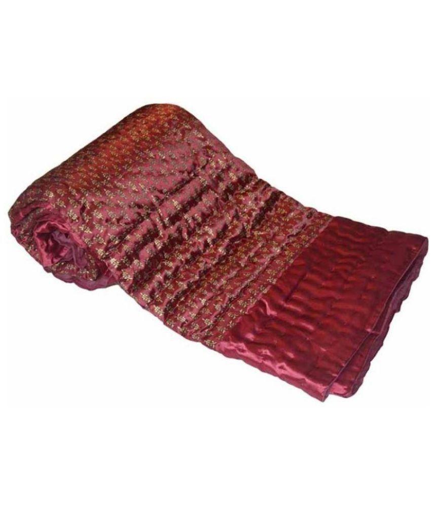 KRG Enterprises Double Cotton Traditional Blanket