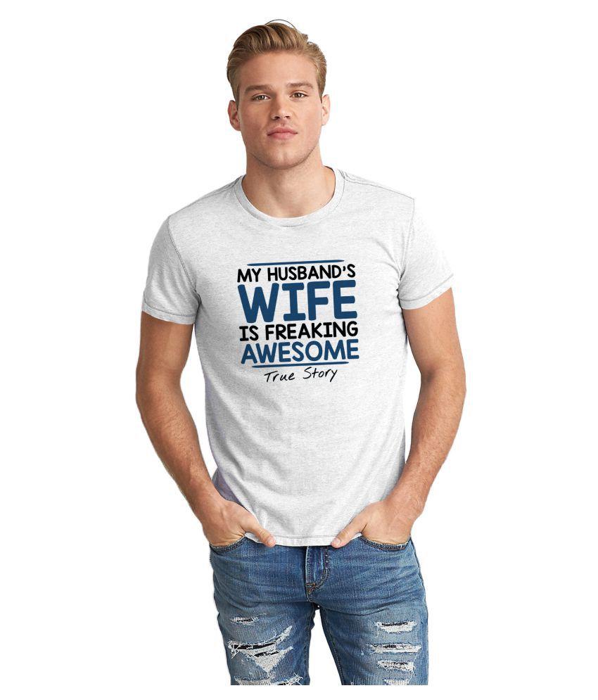 Dreambolic White Round T-Shirt