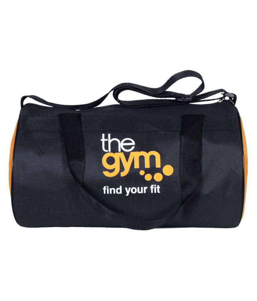 Dee Mannequin Black Gym Bag