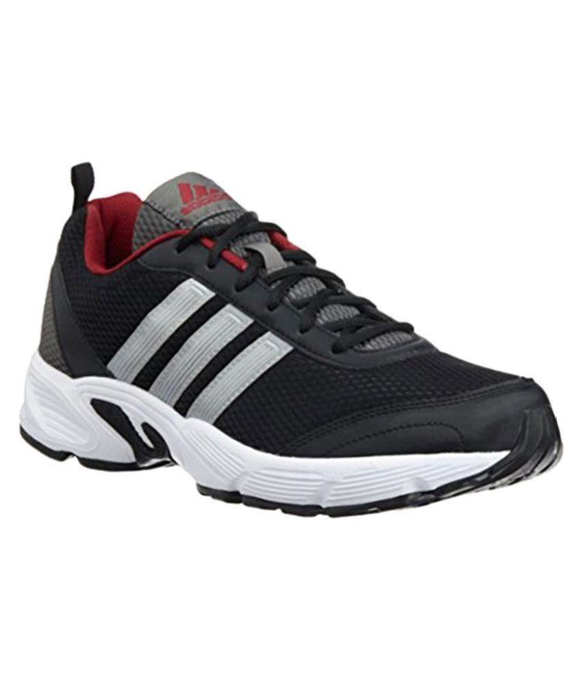 011b8c484601b Adidas ALBIS 1.0 M Black Running Shoes - Buy Adidas ALBIS 1.0 M Black  Running Shoes Online at Best Prices in India on Snapdeal