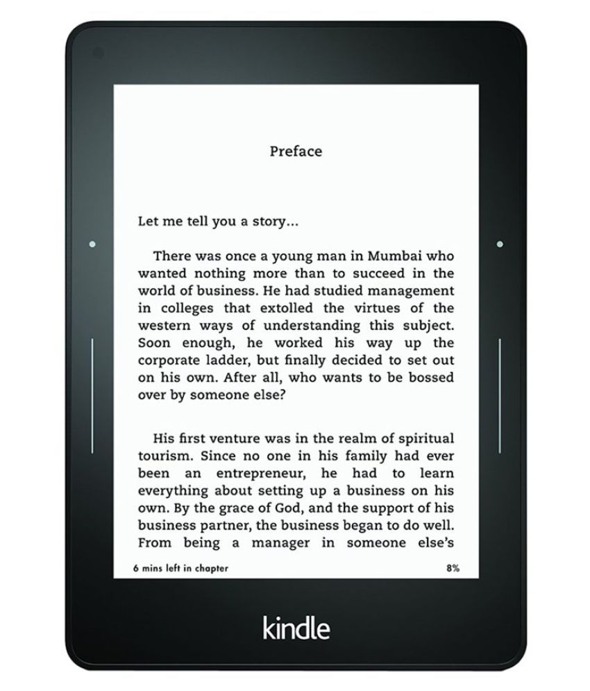 Kindle Voyage with Adaptive Built-in Light (3G + Wifi, Black)
