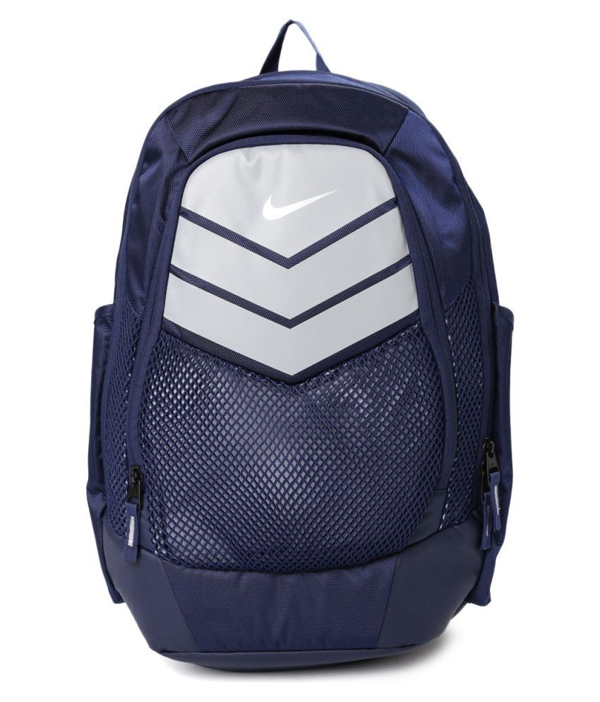 38047ad3c4e0 Nike Navy Blue Backpack - Buy Nike Navy Blue Backpack Online at Low Price -  Snapdeal