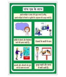 SignageShop Multicolour Flex Benefits Of 5S Poster
