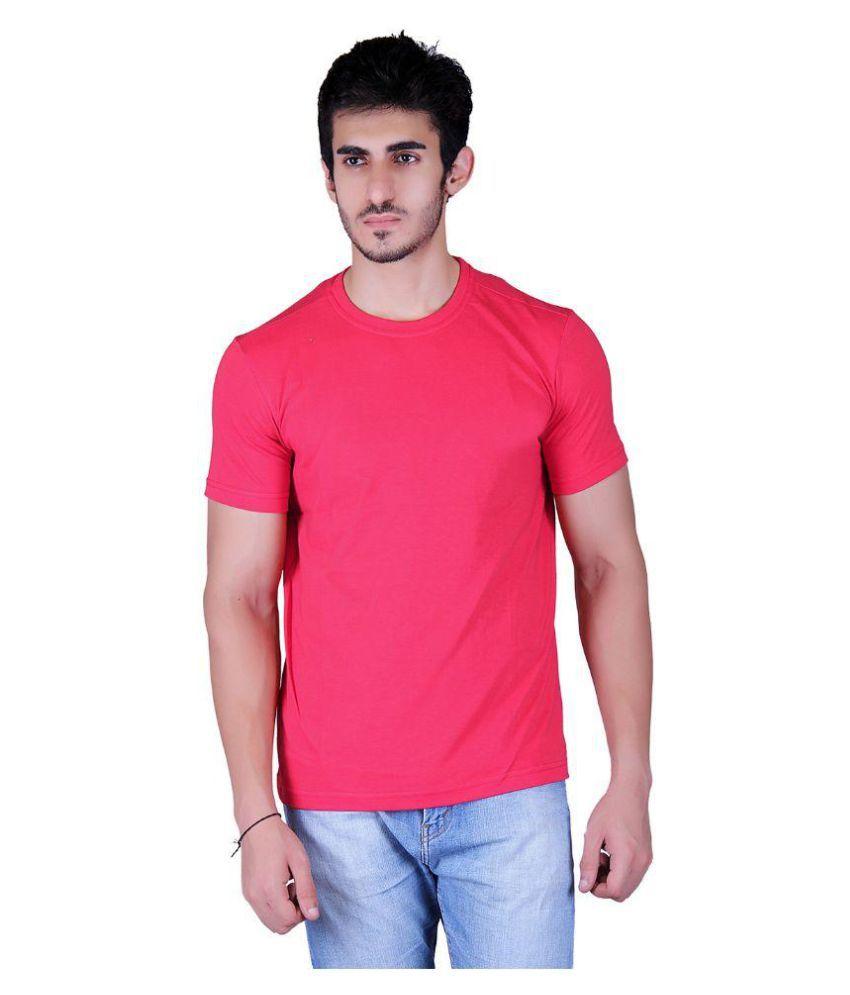 Runn93 Red Round T-Shirt