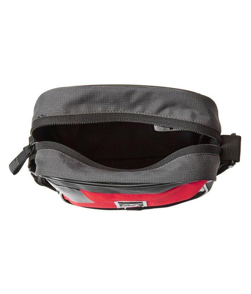 2a0a7091c9ae ... Puma Red Colored Star Graphic Messenger Bag ...