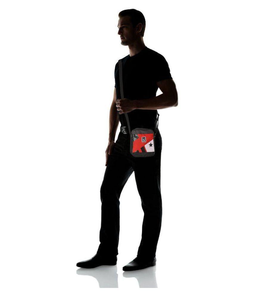 abdbb9da07ce ... Puma Red Colored Star Graphic Messenger Bag