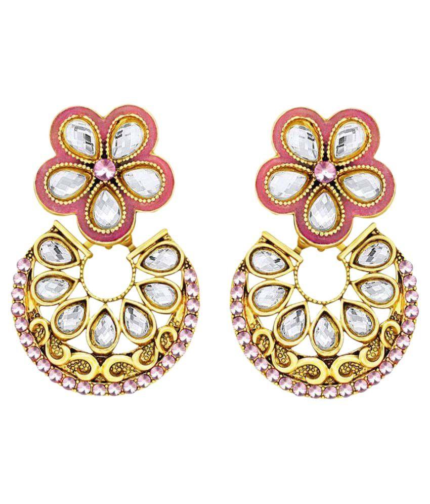 Spargz Multicolour Designer Earrings