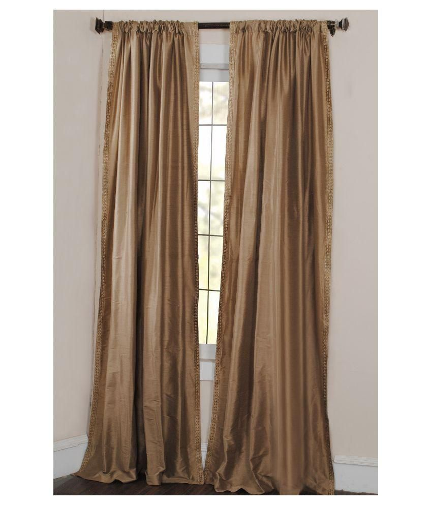 Deco Window Classy Brown Curtain
