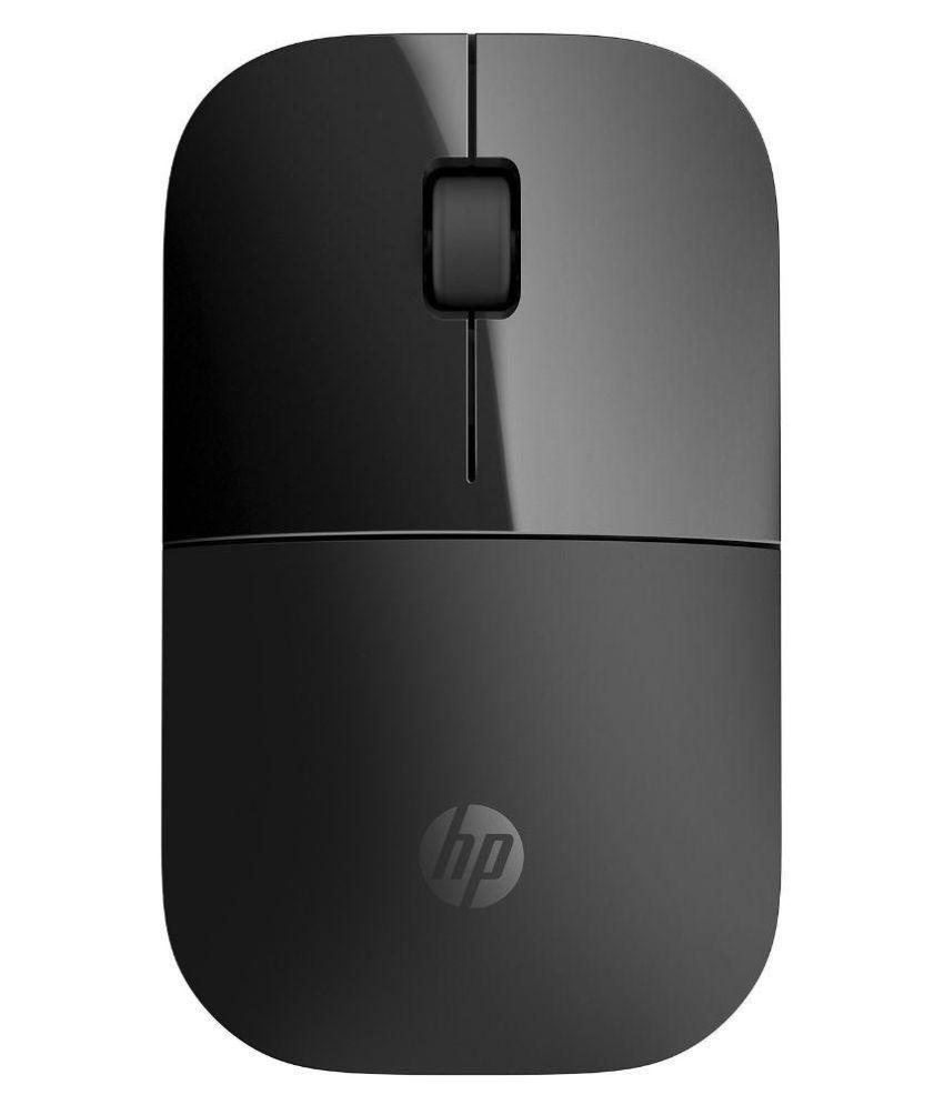 HP Z3700 Wireless Optical Mouse  (USB, Black)