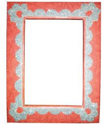 Jagdamba Photo Frames Wood Table Top & Wall Hanging Multicolour Single Photo Frame