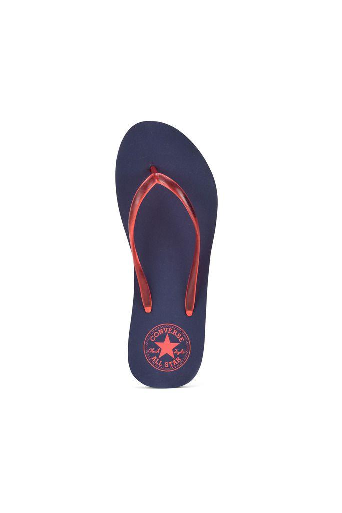 Converse Orange Slippers