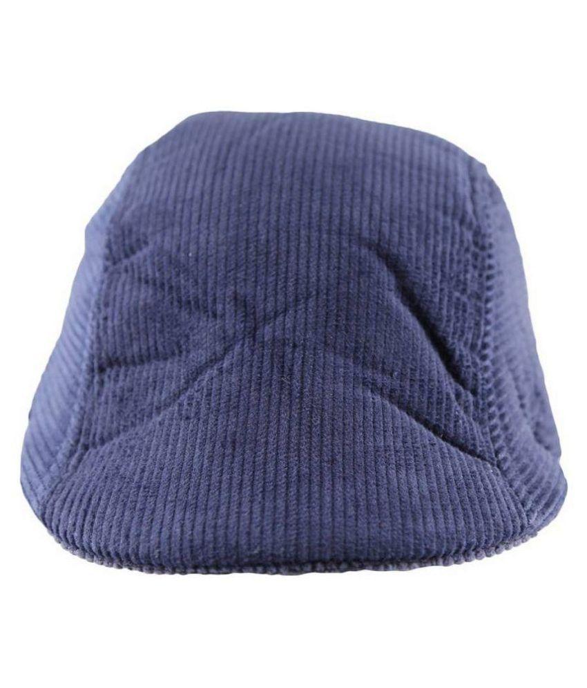 99dailydeals Blue Plain Winter Woolen Caps