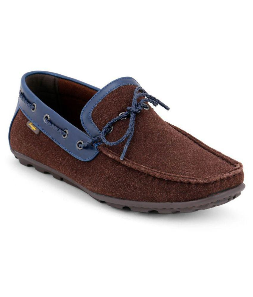 Froskie Brown Loafers