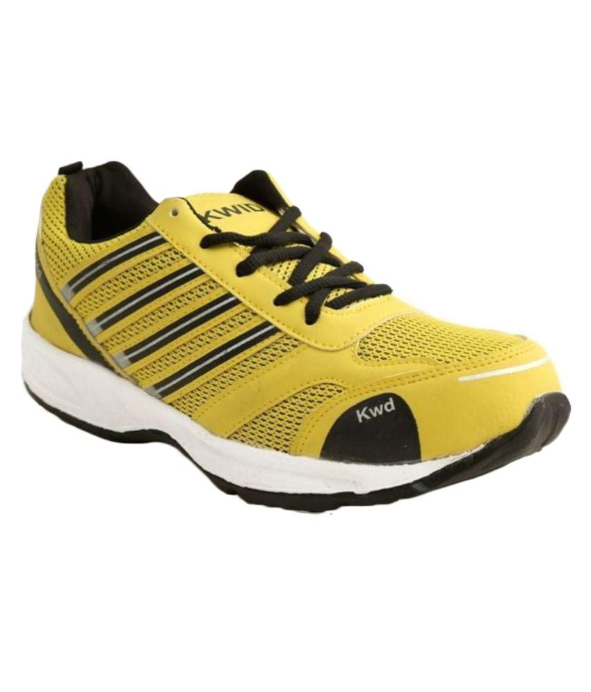 Blue Tuff Yellow Running Shoes