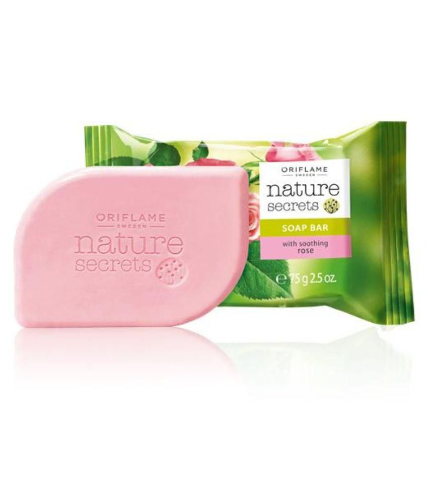Oriflame Nature Secrets Soap Bar with soothing rose