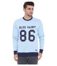 Blue Saint Blue Round Sweatshirt - 621676849918