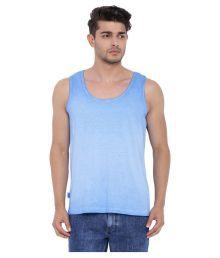 Blue Saint Blue Sleeveless Vests