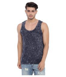 Blue Saint Blue Sleeveless Vests - 668269796552
