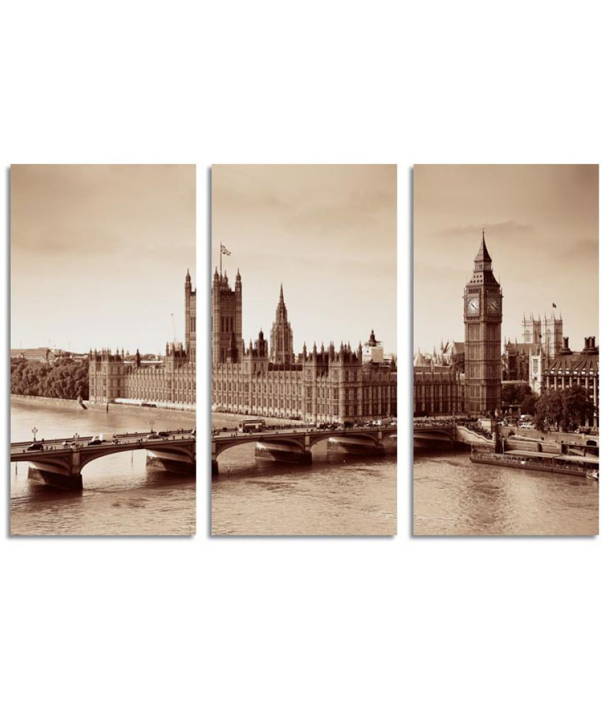 Ell Decor Architecture Canvas Art Prints Without Frame 3 Combination