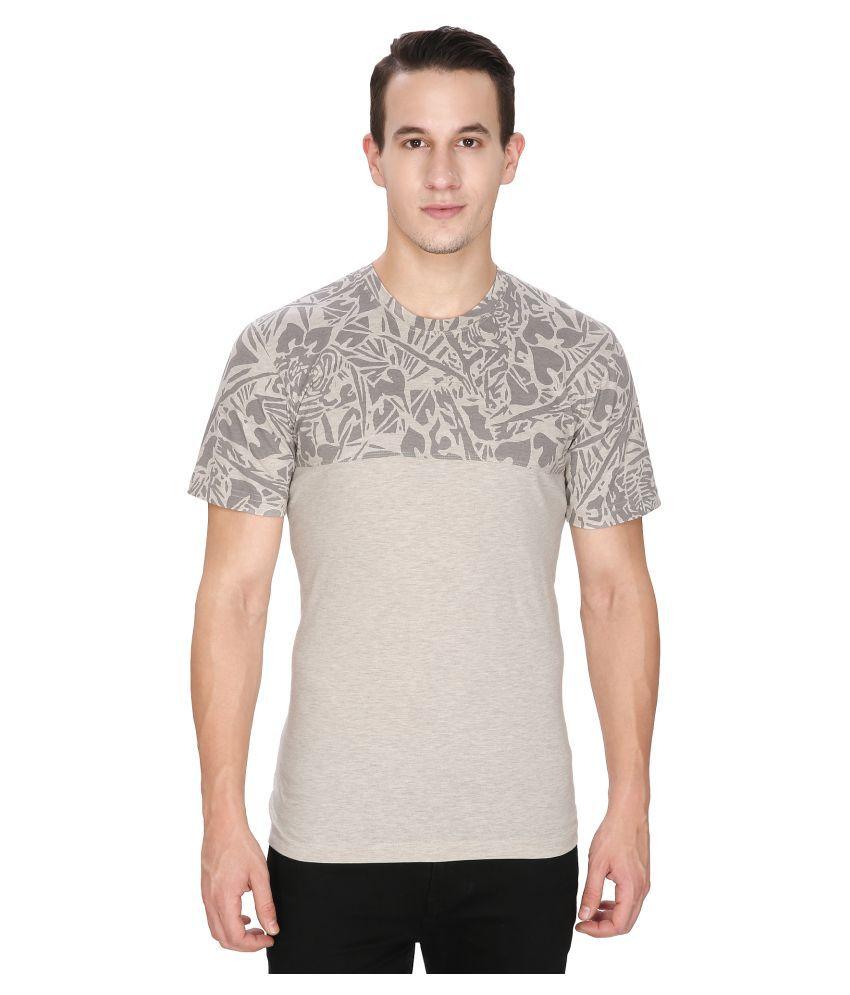 Keri Beige Round T-Shirt