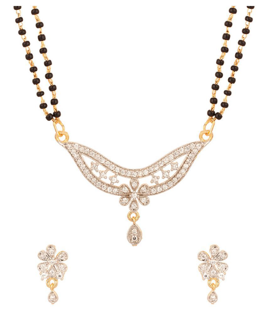 Prateek Retail Multicolor Mangalsutra Set