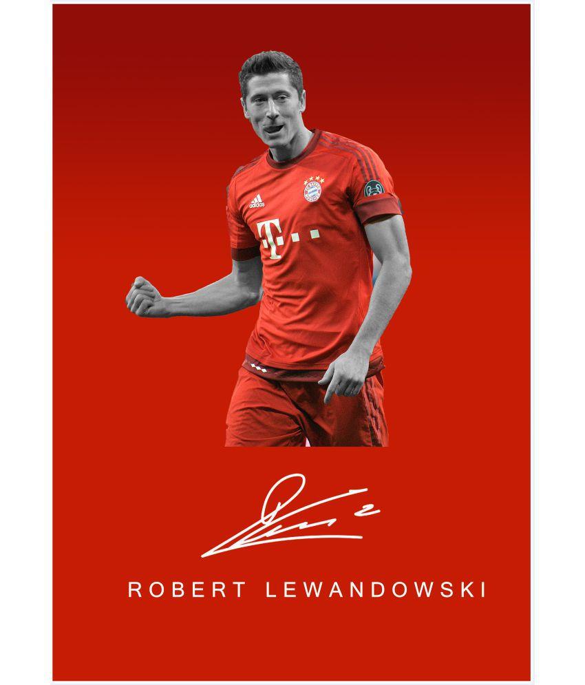 super popular 741f0 4c662 642 Stitches Robert Lewandowski Paper Art Prints Without ...
