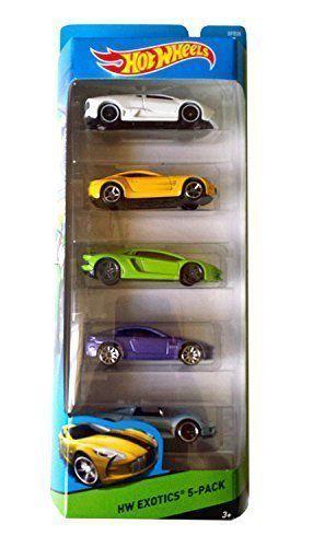 Mattel Hot Wheels Hw Exotics 5 Pack Aston Martin One 77 V8 Vantage Lamborghini Aventa