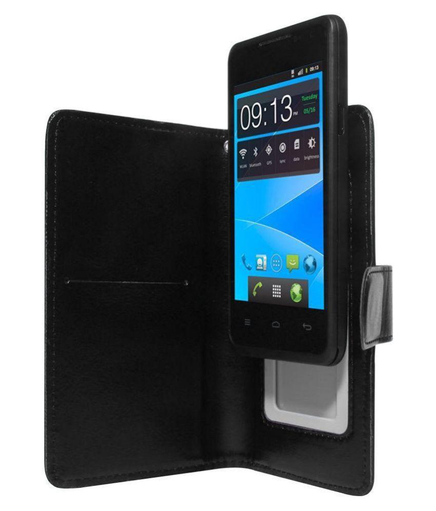 hot sale online b29f1 1949e Samsung Galaxy Grand Neo Plus Flip Cover by STK - Black