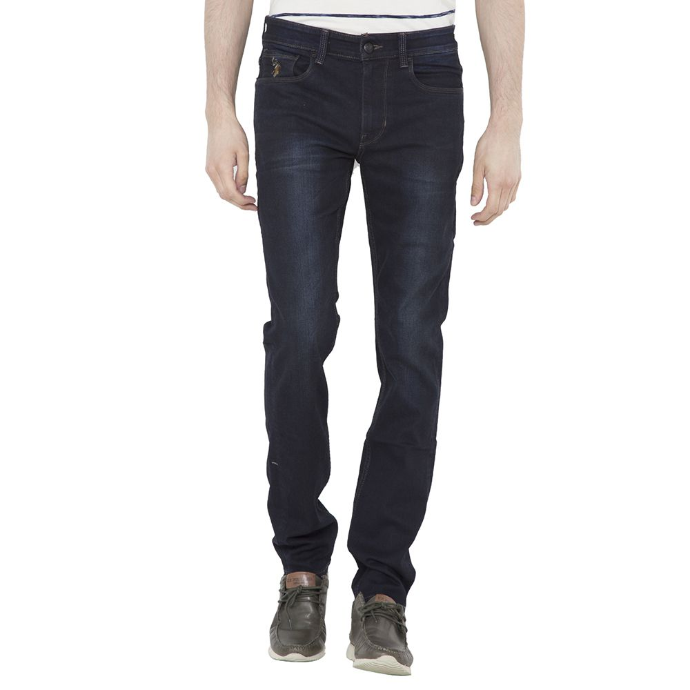 U.S. Polo Assn. Dark Blue Skinny Faded