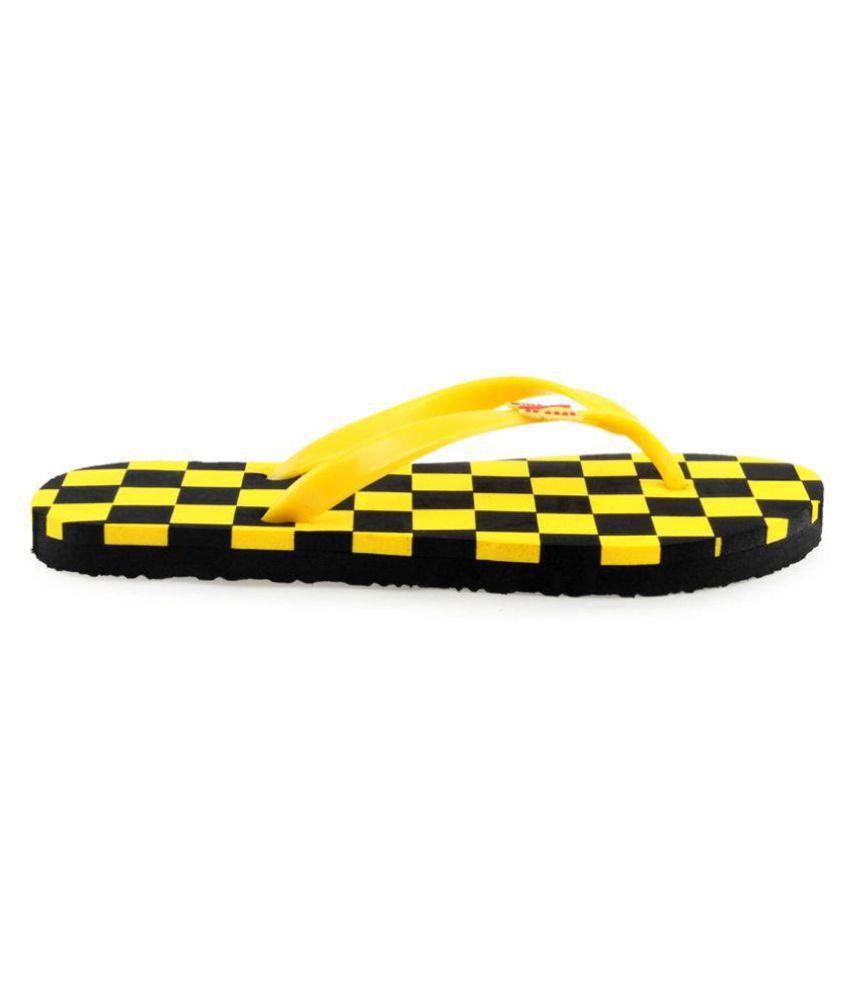 Zasmina Yellow Slippers