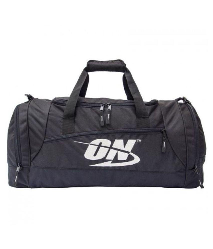 Optimum Nutrition Black Gym Bag