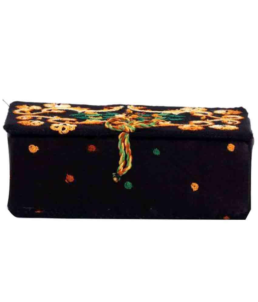 Soulful Threads Black Jewellery Box