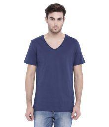 Blue Saint Blue V-Neck T-Shirt