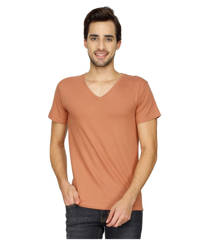 Blue Saint Peach V-Neck T-Shirt