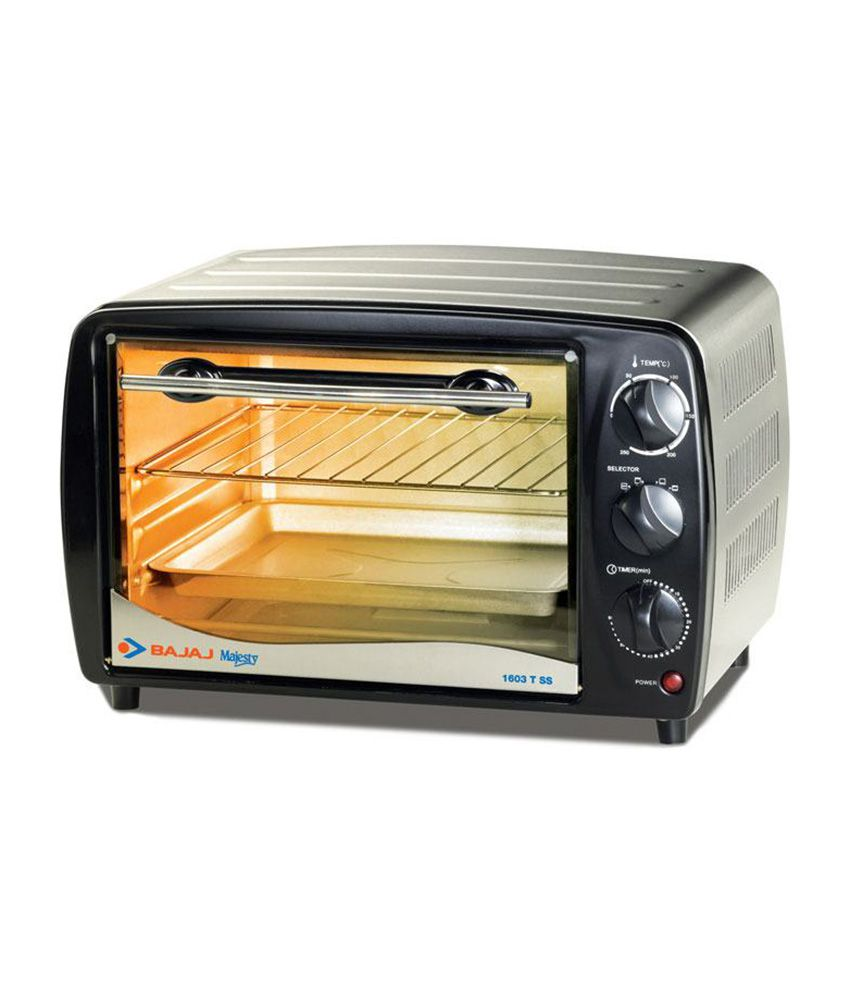 Difference Between Microwave And Oven And Otg: Bajaj 16 LTR Majesty 1603 T SS Oven Toaster Griller