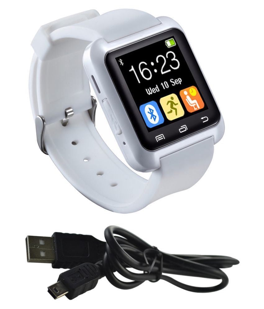 Gold Dust bluetooth smart Smart Watches White