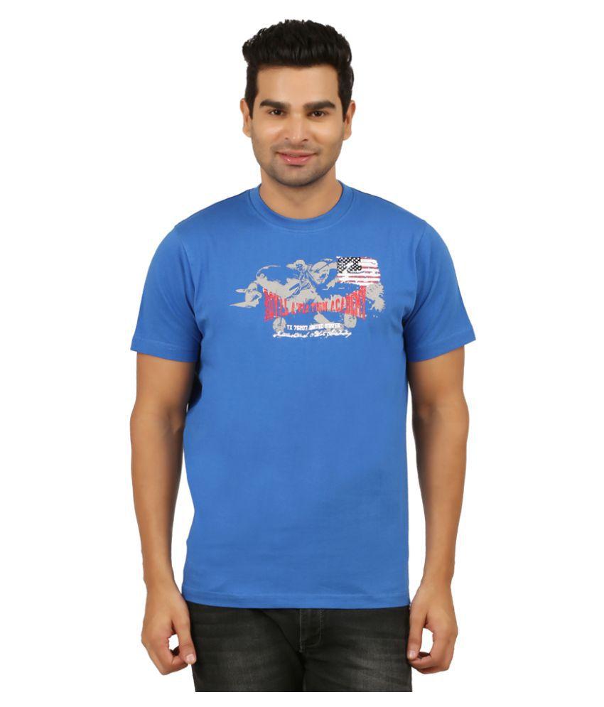 KB Polo Blue Round T-Shirt